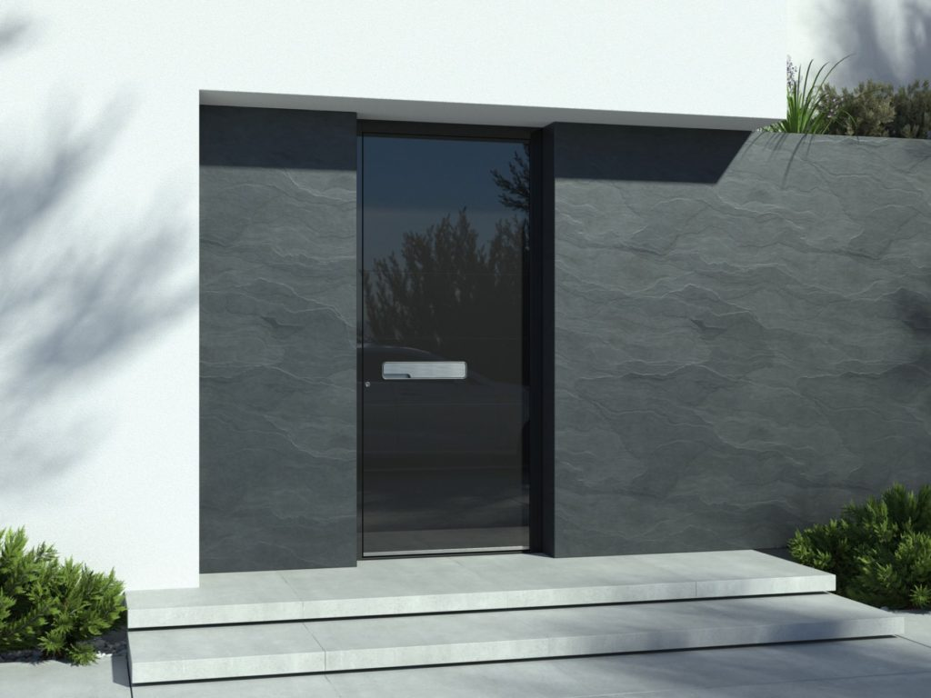 Face recognition doors