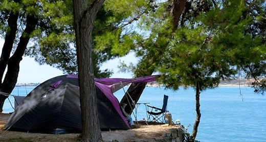 camping, holiday, relaxation